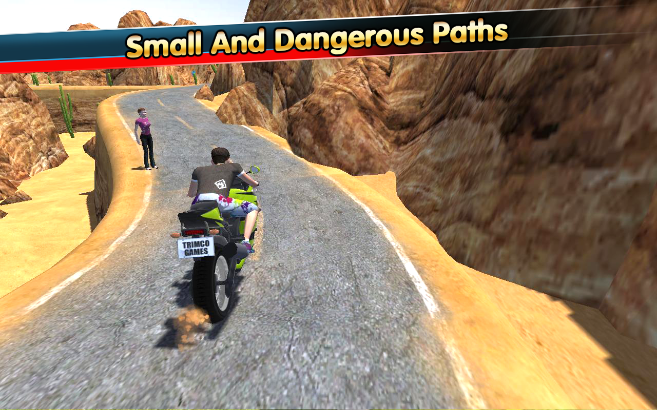 Modern Hill Climber Moto World Screenshot 1