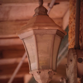 old light fixtureold light fixture by Brenda Shoemake - Artistic Objects Antiques