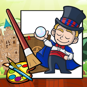 Fantastic Magic Coloring Book for Android