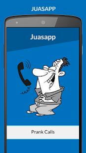 Juasapp - Prank Calls APK for Bluestacks