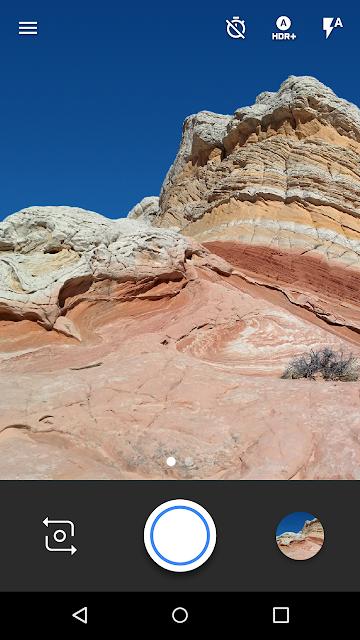 Google Camera screenshots