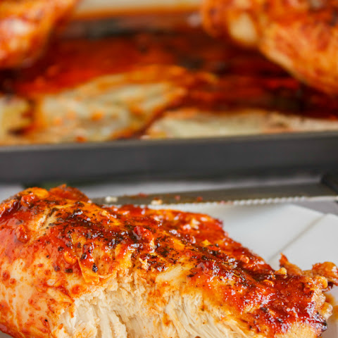 Sweet Sriracha Chicken Breasts