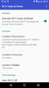 Toggle WiFi at Home Auto- screenshot thumbnail