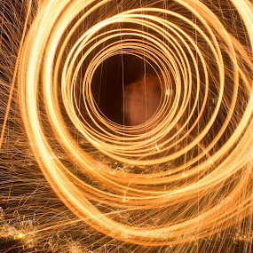 by Steph Doyle - Abstract Light Painting