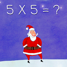Times Tables for Kids Santa