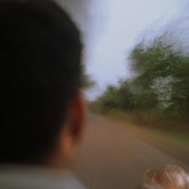 Cruising along by Kartik Saboo - Novices Only Street & Candid ( ride, cruising, bike, nagpur, drive, biking, india, along, travel, motion, cruise, motion blur,  )