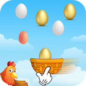Basket Egg Catcher Game APK for Ubuntu