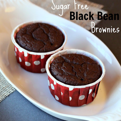 Sugar Free Chocolate Black Bean Brownies