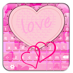Pink Heart Keyboard Designs