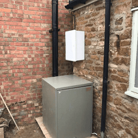 New Grant external oil boiler in Swerford -Oxfordshire