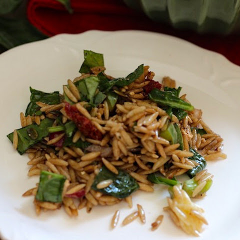 Sun Dried Tomato Orzo Salad