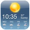 Free OS Style Daily live weather forecast APK for Windows 8