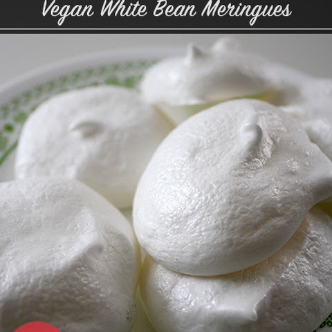 White Bean Vegan Meringue Cookies