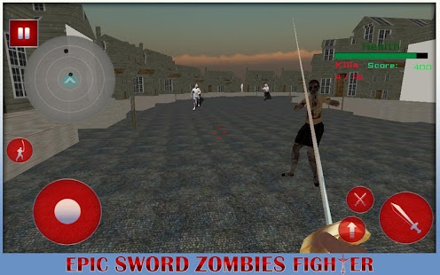 Epic Sword Fighter : Zombies - screenshot