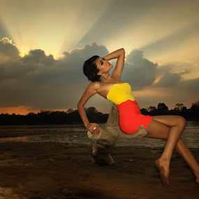Your Light by Irawan Sudjana - People Portraits of Women ( model )