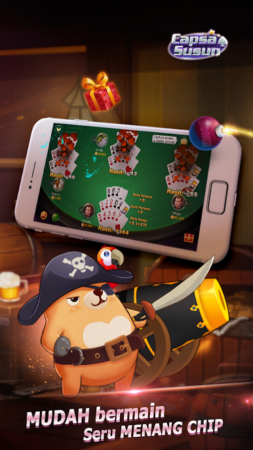 Capsa Susun(Free Poker Casino) Screenshot 14
