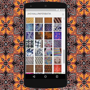 HD Wallpaper Batik Indonesia - screenshot