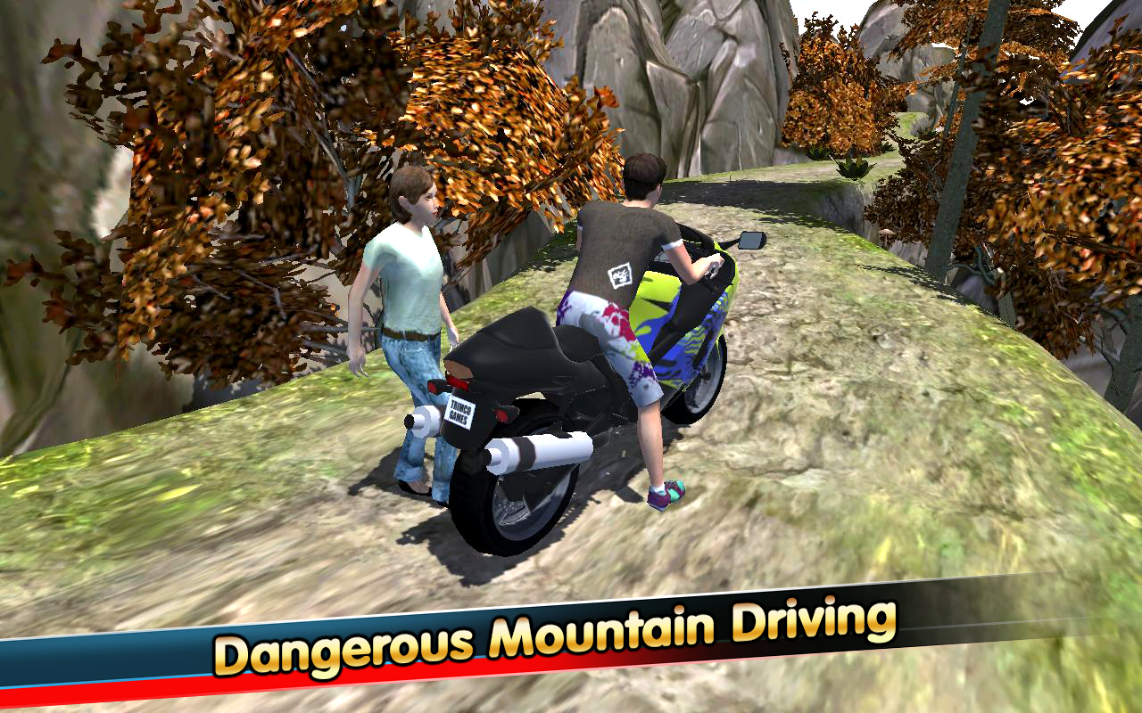 Modern Hill Climber Moto World Screenshot 2