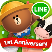 Game LINE BROWN FARM version 2015 APK