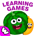 Free FunnyFood Kindergarten learning games for toddlers APK for Windows 8