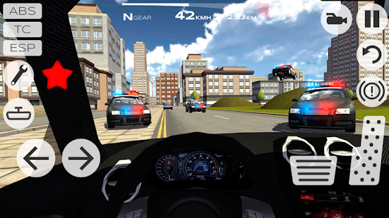 Game Extreme Car Driving Racing 3D APK for Kindle