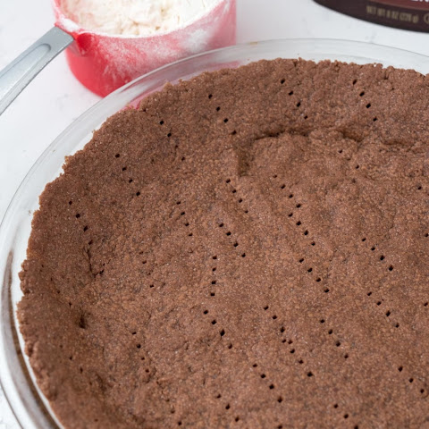No Roll Chocolate Pie Crust
