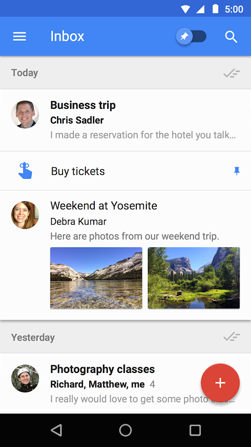 Inbox by Gmail Screenshot 0
