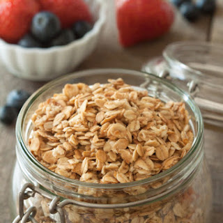 Vegan Gluten-free Granola (dairy-free, 100% whole grain)
