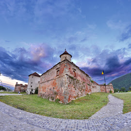 Brasov Fortress by Roland Adrian - Buildings & Architecture Public & Historical ( history, arhitecture, fortress, historical, landscape )
