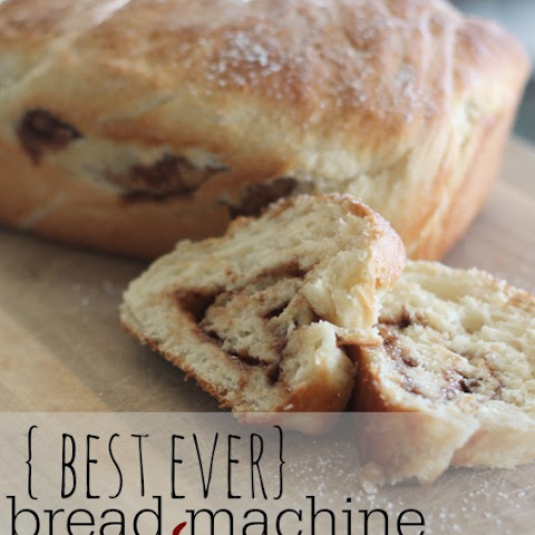 Bread Machine Cinnamon Bread