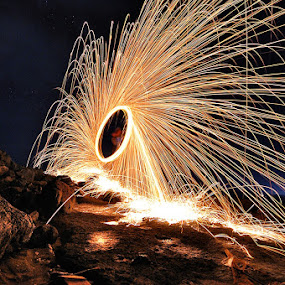 by Yermia Satriawan - Abstract Fire & Fireworks