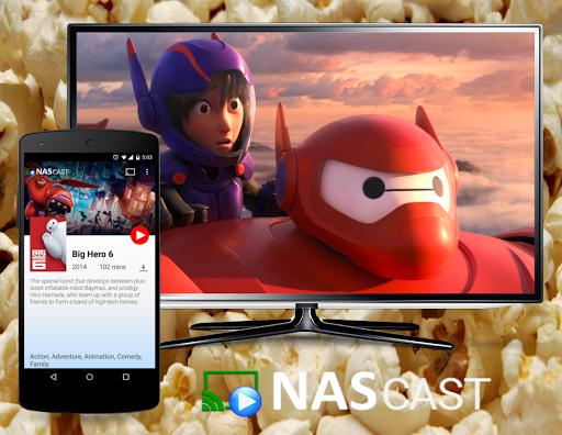 NAS Cast - screenshot