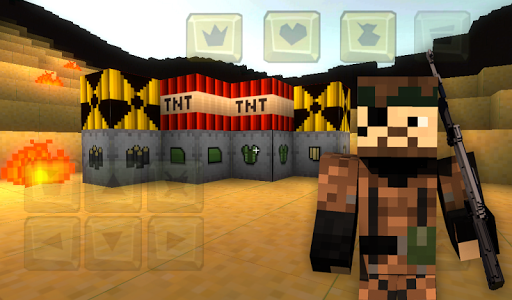 Guncraft mod for Minecraft - screenshot