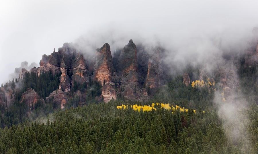 Cimarron by David Short - Landscapes Mountains & Hills