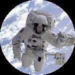 Astronaut VR Google Cardboard Icon