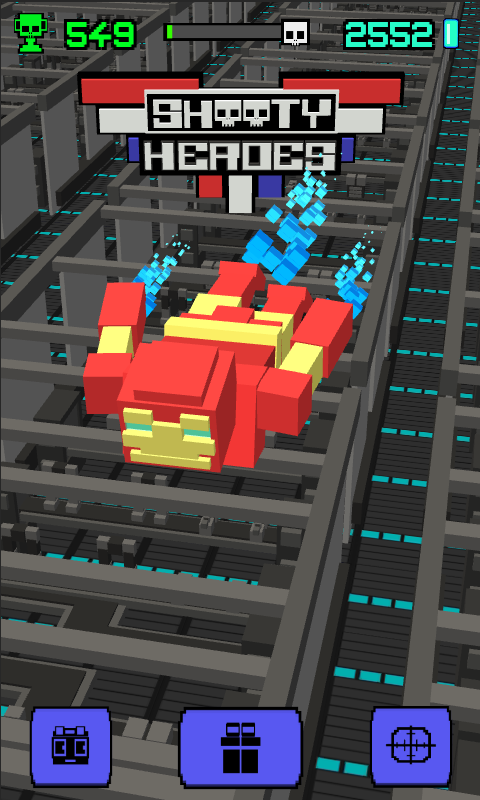 Shooty Sky Hero- Arcade Flight Screenshot 10