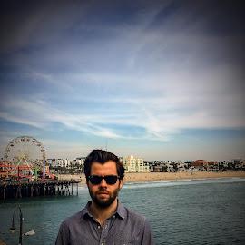 Santa Monica  by Garrett Parker - People Portraits of Men