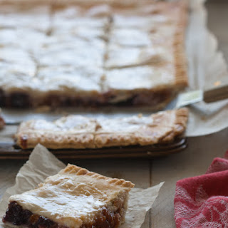 Apricot-Cherry Slab Pie