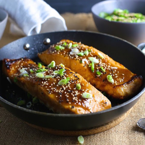 Miso-Ginger Glazed Salmon Recipes — Dishmaps