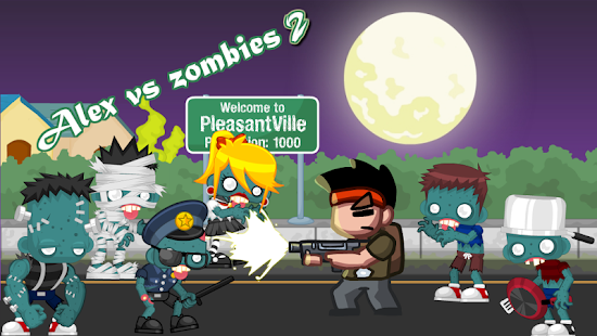 Super Alex VS Amazing Zombie 2
