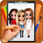 10.  Learn How to Draw Chibi Famous Celebrities