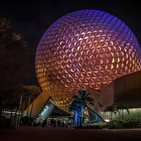 Epcot by John Spain - Buildings & Architecture Other Exteriors ( disney world, epcot, disney )