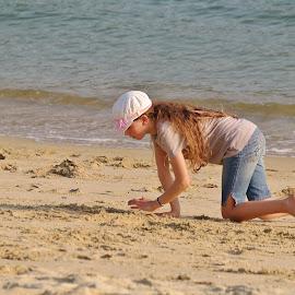 Fun at the beach by Koh Chip Whye - Babies & Children Children Candids (  )
