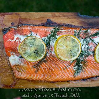 Cedar Plank Salmon Dill Recipes