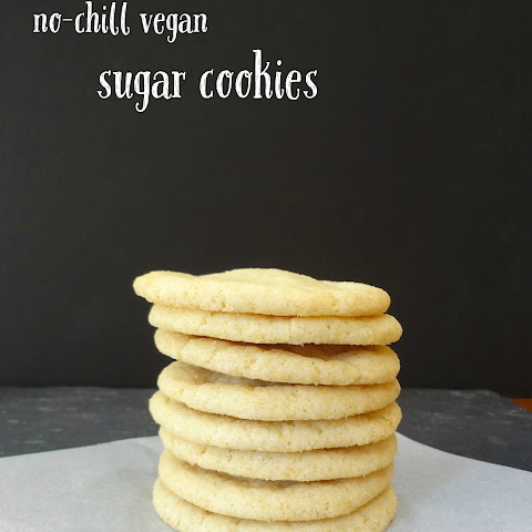 No-Chill Vegan Sugar Cookies