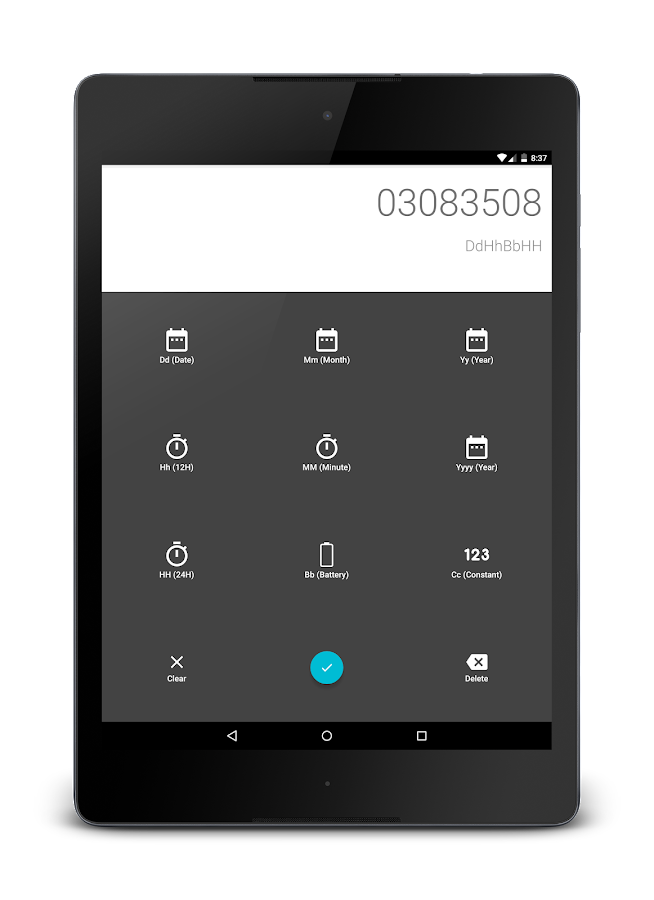 [DISCONTINUED] DroidLock: Dynamic Lockscreen (Unreleased) – Screenshot
