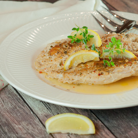 Grilled Grouper with Lemon & Herbs
