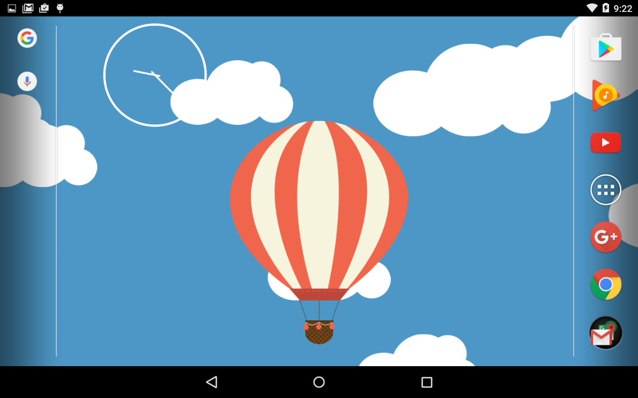 Relax Ballon Live Wallpaper Screenshot 2