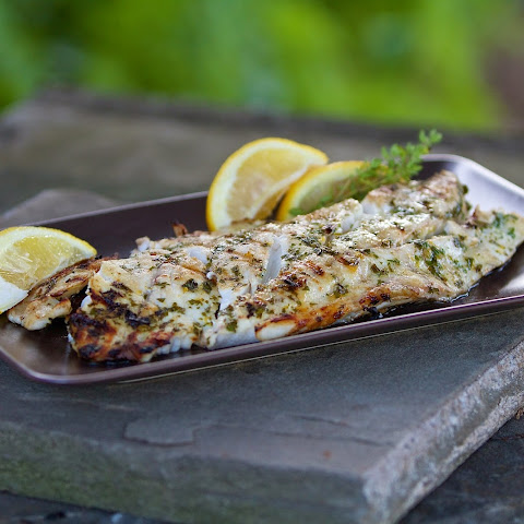 Grilled Fresh Striped Bass