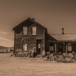 by Paul Scullion - Buildings & Architecture Decaying & Abandoned ( old, california, ghost town, bodie, mine, gold,  )